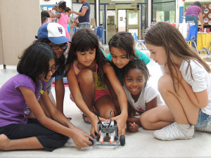 Dallas summer school LEGO program