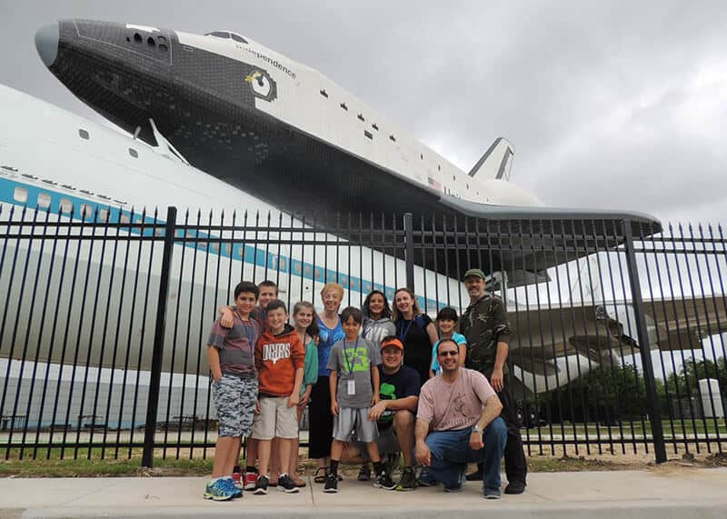 Field trip NASA