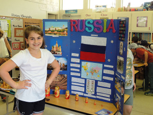 Oak Crest private school geography fair